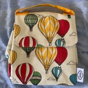 Danica Studio lunch bag w/hot air balloon print